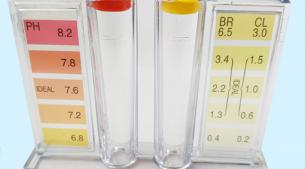 余氯、PH值二合一测试盒